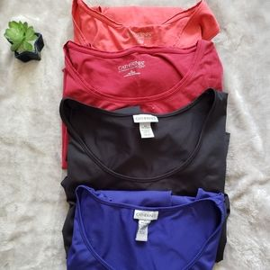Catherines bundle of 4 tank tops. Size 3X/4X